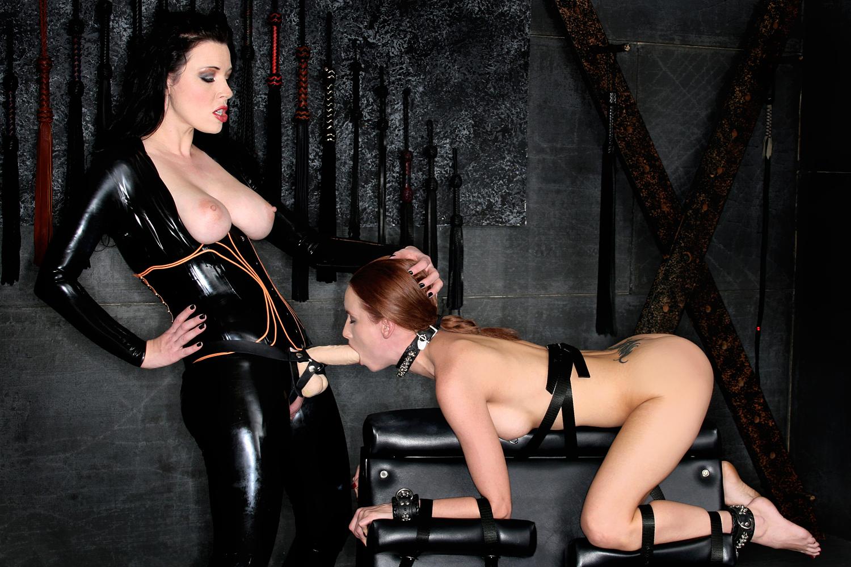 Latex lesbian bondage porn-7623